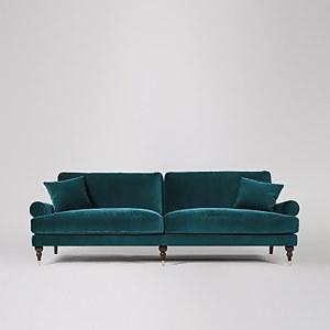 Swoon Sutton Velvet 3 Seater Sofa