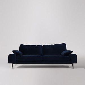 Swoon Tulum Velvet 3 Seater Sofa
