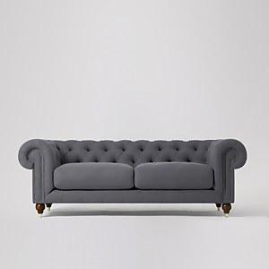 Swoon Winston Smart Wool 3 Seater Sofa