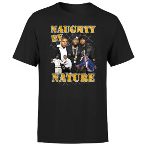 Naughty By Nature Men's T-Shirt - Black