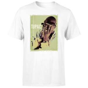 Tupac Men's T-Shirt - White