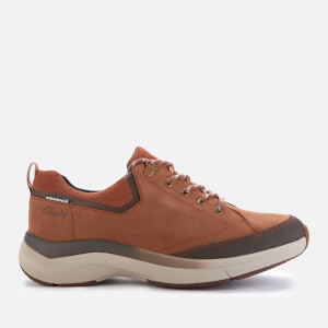 Clarks Men's Wave2.0 Vibe Nubuck Trainers - Tan