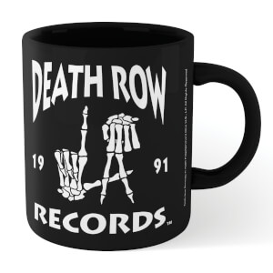 Tasse Death Row Records LA - Noir