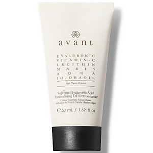 Avant Skincare Crème Antioxydante Duo Supreme à l'Acide Hyaluronique