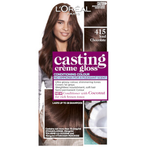 L'Oréal Paris Casting Creme Gloss Semi-Permanent Hair Colour - Iced Chocolate 415