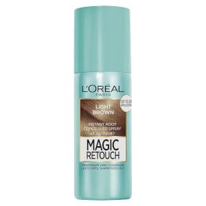 L'Oréal Paris Magic Retouch Temporary Root Concealer Spray - Light Brown 4 75ml