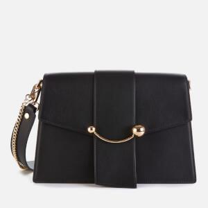 Strathberry Women's Crescent Shoulder Bag - Black