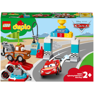LEGO DUPLO Cars: Lightning McQueen's Race Day Playset (10924)