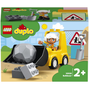 LEGO DUPLO Bulldozer Construction Vehicle Toy Set (10930)