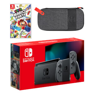Nintendo Switch (Grey) Super Mario Party Pack
