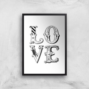 The Motivated Type Love CARNIVAL Giclee Art Print