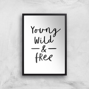 The Motivated Type Young Broke And Fabulous Giclee Art Print