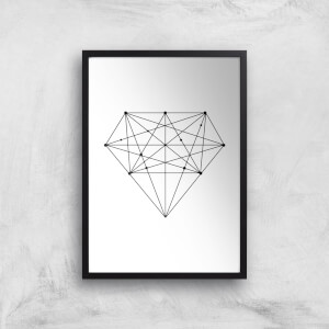 The Motivated Type Diamond Giclee Art Print