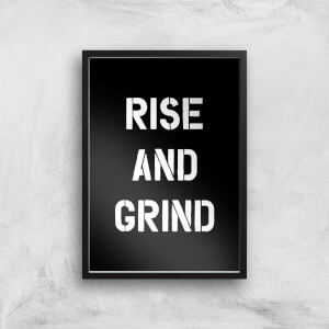 The Motivated Type Rise And Grind Giclee Art Print