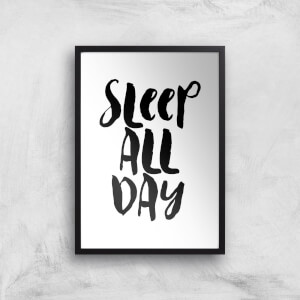 The Motivated Type Sleep All Day Giclee Art Print