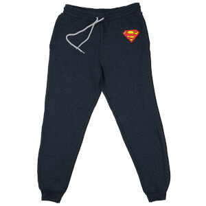 DC Superman Kids' Piped Joggers - Navy