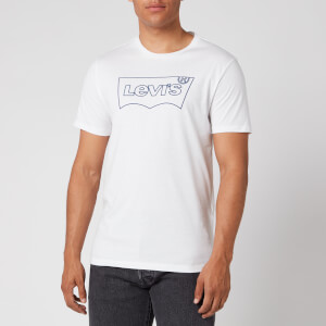 Levi's Men's Housemark Graphic T-Shirt - Outline White