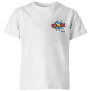 Emoji Boom Kids' T-Shirt - White