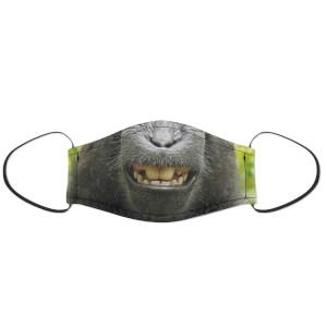Happy Monkey Face Mask