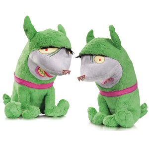 DC Collectibles DC Super Pets Crackers and Giggles Plush Toy (Pack of 2)