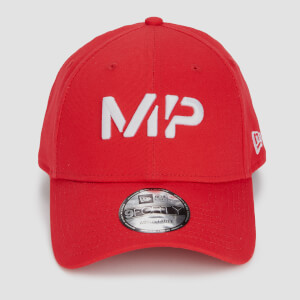 MP 9FORTY Baseball Cap - Danger/White