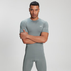 MP Men's Base Layer Kortermet T-skjorte – Storm