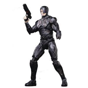 Hiya Toys Robocop 2014 Battle-Damaged Robocop 1/18 Scale Figure - PX Exclusive