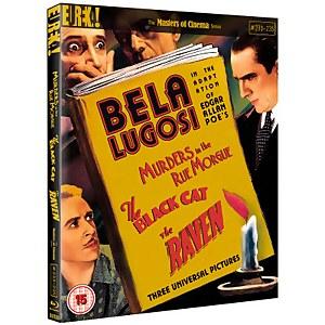 Three Edgar Allan Poe Adaptations Starring Bela Lugosi (Masters Of Cinema)
