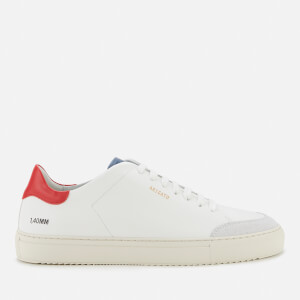 Axel Arigato Men's Clean 90 Triple Leather Cupsole Trainers - White/Red/Blue