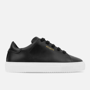 Axel Arigato Kids' Clean 90 Leather Cupsole Trainers - Black