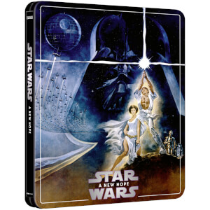 Exclusivité Zavvi : Steelbook Star Wars : Episode IV – Un nouvel espoir – 4K Ultra HD (Édition 3 Disques Blu-ray inclus)