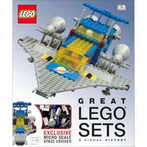 DK Books Great LEGO Sets A Visual History Hardback
