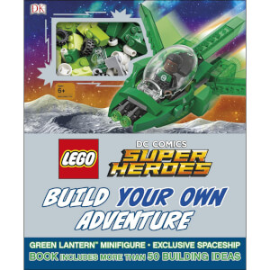 DK Books LEGO DC Comics Super Heroes Build Your Own Adventure Hardback