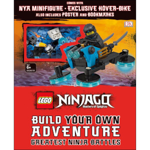 DK Books LEGO NINJAGO Build Your Own Adventure Greatest Ninja Battles Hardback
