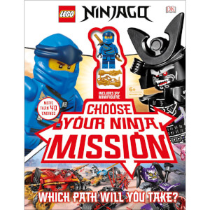 DK Books LEGO NINJAGO Choose Your Ninja Mission Hardback