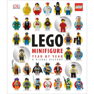 DK Books LEGO Minifigure Year by Year A Visual History Hardback