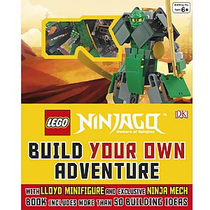 DK Books LEGO NINJAGO Build Your Own Adventure Hardback