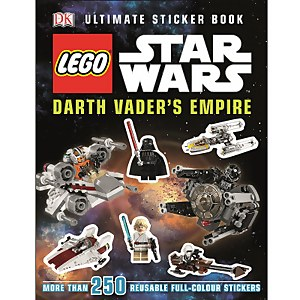 DK Books LEGO Star Wars Darth Vader's Empire Ultimate Sticker Book Paperback