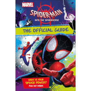 DK Books Marvel Spider-Man Into the Spider-Verse The Official Guide Hardback