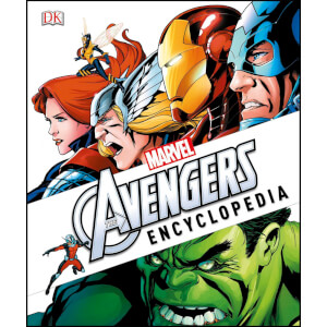 DK Books Marvel The Avengers Encyclopaedia Hardback