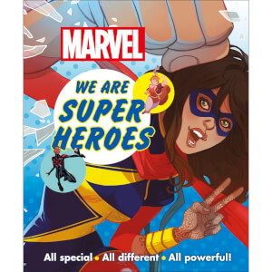 DK Books Marvel We Are Super Heroes! Paperback