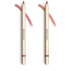 mirenesse All Day Velvet Matte Kissproof Lip Liner Set - Nude Roses