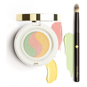 mirenesse Tone Correcting Primer Cushion and Blender Brush
