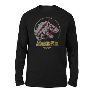 Jurassic Park Lost Control Unisex Long Sleeved T-Shirt - Black