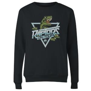 Sweat-shirt Jurassic Park Raptors On Tour Stroke - Noir - Femme