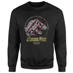 Sweat-shirt Jurassic Park Lost Control - Noir