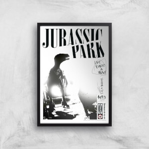 Poster Fine Art Jurassic Park Life Finds A Way