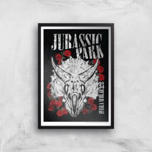 Jurassic Park Isla Nublar 93 Giclee Art Print