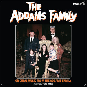The Addams Family: Original Music From The Addams Family Colour LP
