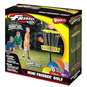 FRISBEE Game Time Mini Golf Set